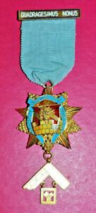 Masonic Past Master's Jewel Wembley Lodge No 2914