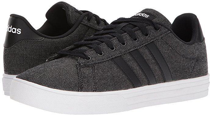 Men's Adidas Originals Daily 2.0 Sneaker Shoe DB0284 Black/Black/White Brand New