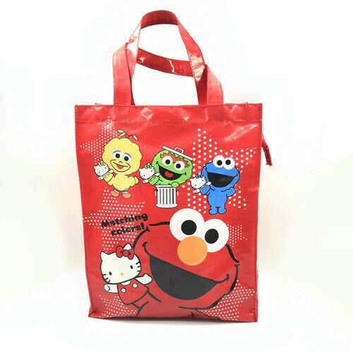Sesame Street elmo Waterproof shopping bag storage student handbag bag bags