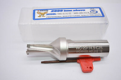 WPD 145-25-2D U drill indexable drill 14.5mm C25-2D FOR WCMX03** Φ14.5-2D