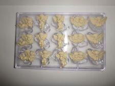 NEUE POLYCARBONAT SCHOKOLADENFORM ENGEL NEW chocolate mold ANGELS  # 339