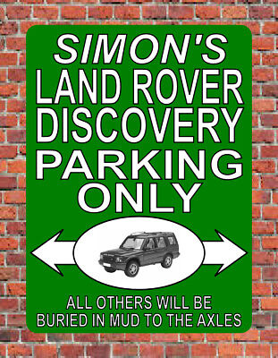 NOTICE ≈ LAND ROVER PARKING ONLY ≈ landrover series 1 2 2a 3 plaque METAL SIGN