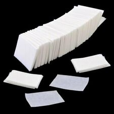 1000pcs UV GEL Tips Cotton Nail Polish Cleaner Remover Wipes Lint White USA