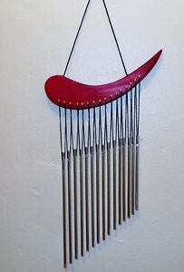 Hand Tuned Aluminum Feng Shui  Wind Chime