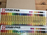 Sakura Cray-pas Oil Pastel Sticks No. 51540 2 Boxes Of 25 Pieces 50 Total