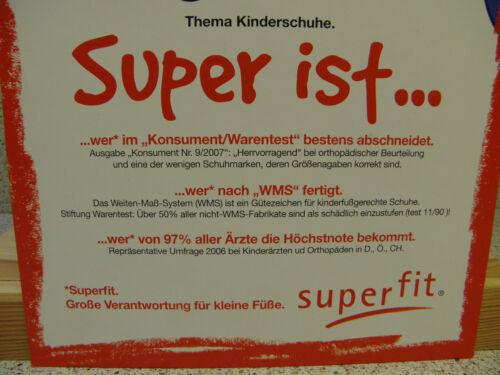 Superfit ® reduziert S53 blau Sportschuh 26 Klett Gr