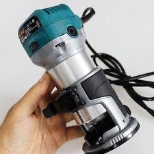 Katsu Fresatrice Legno Rifilatore Elettrico a Mano per Laminati 220V 710W 101750