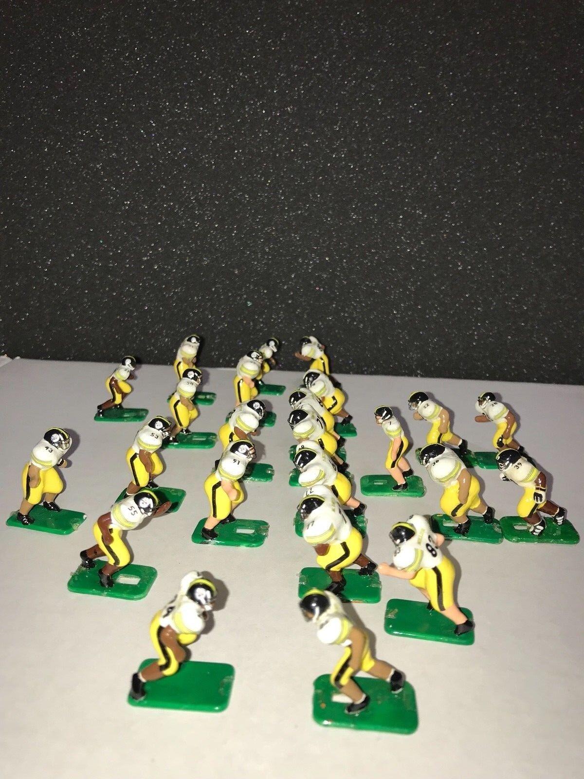 Tudor Eléctrico Juego De Fútbol NFL Personalizado bases de Pittsburgh Steelers 24 jugadores +