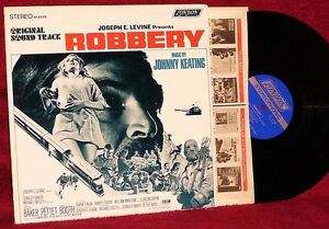 OST-LP-ROBBERY-JOHNNY-KEATING-1967-LONDON-NM-STEREO