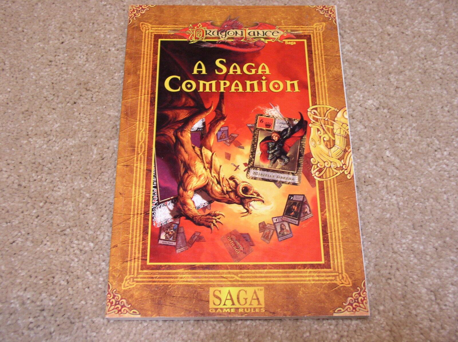 Dragonlance Saga Game Rules A Saga Companion