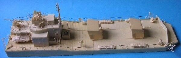 MGM 060 -021  72 hkonsts WWII Tyska lätta konstilleri Barge (MAL)Typ 1ALotsa Guns