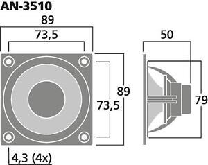 CELESTION-an-3510-90mm-9CM-3-5-034-HIFI-Haut-parleur-a-large-bande-bande-large