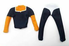 SU-CP-DB Dark Blue Long Sleeve compression shirt for Mezco Marvel Legends body