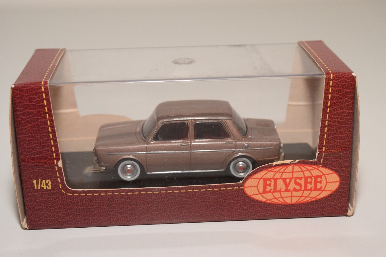 . ELYSEE ELY571 SIMCA 1000 GLS 1000GLS 1965 METALLIC BROWN MINT BOXED RARE