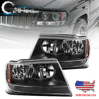 For 1999-2004 Jeep Grand Cherokee Limited Driver Side Headlight LH
