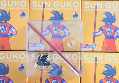 Demoniacal Fit Dragon Ball Custom headsculpt set for SHF Gogeta toy in stock New