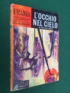 URANIA-n-201-Philip-DICK-L-039-OCCHIO-NEL-CIELO-1-Ed-1959-ORIGINALE-Fantascienza