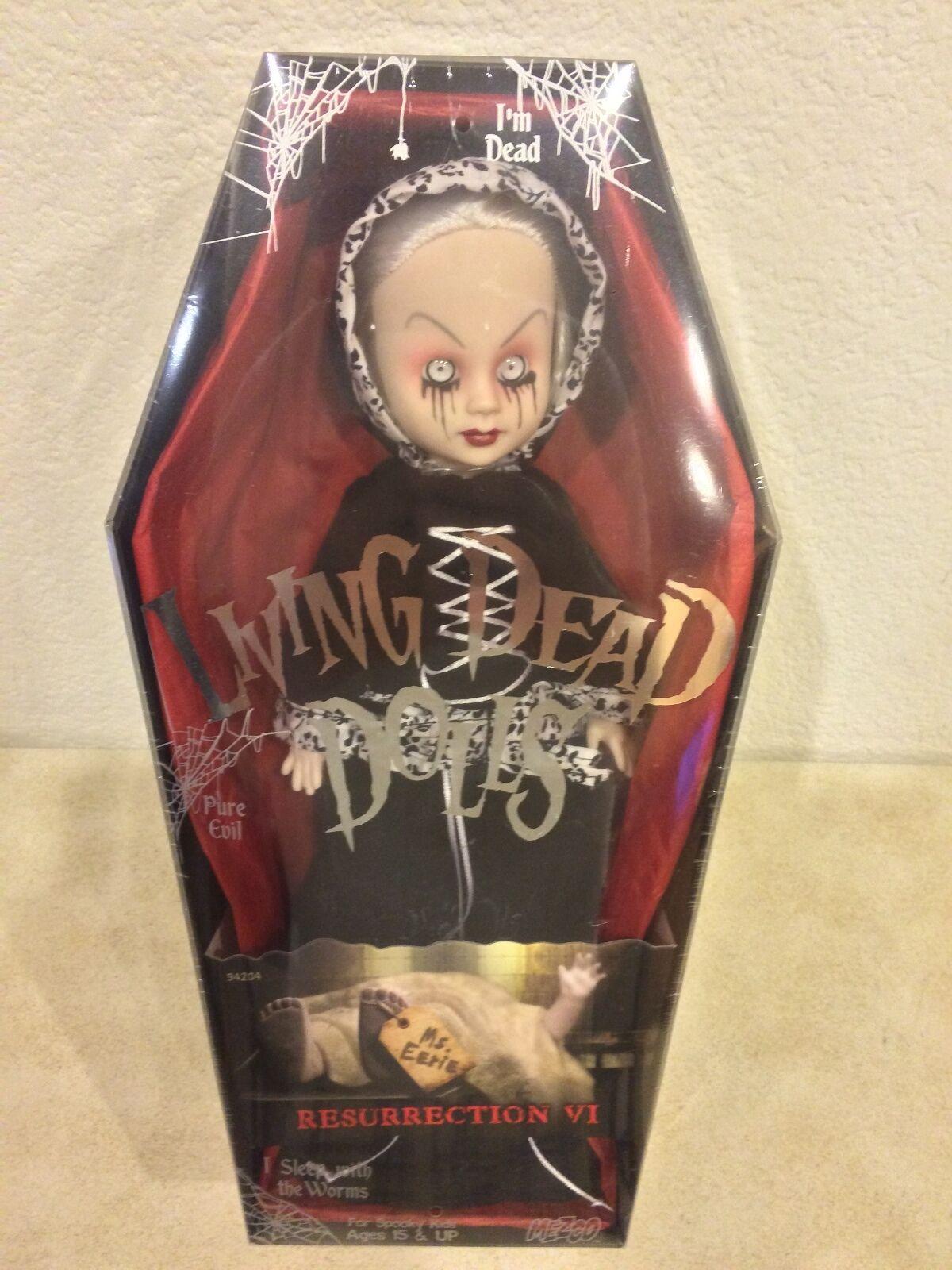 Mezco Living Dead Dolls resurrección VI MS. inquietante Variante Sellado