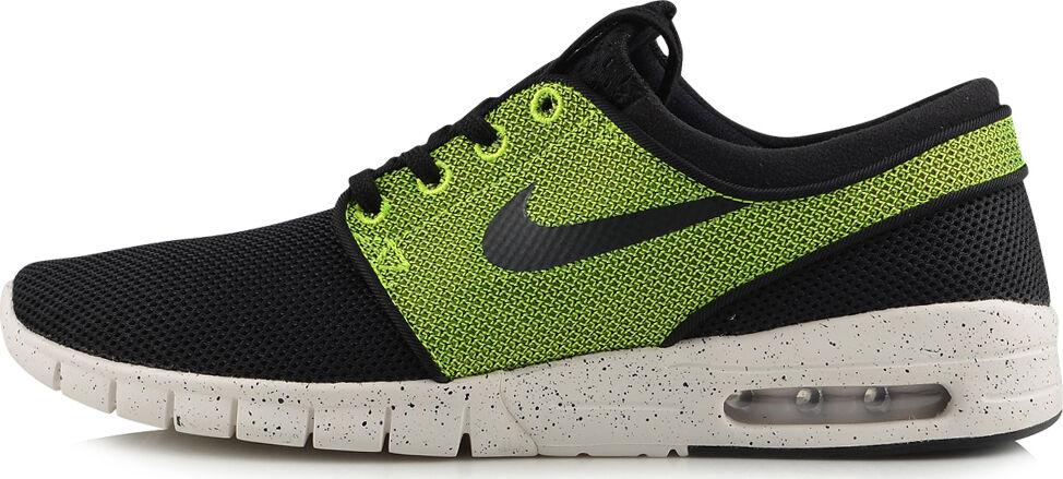 Nike STEFAN JANOSKI MAX Black Black Volt Ivory 631303-071 (433)  Men's Shoes