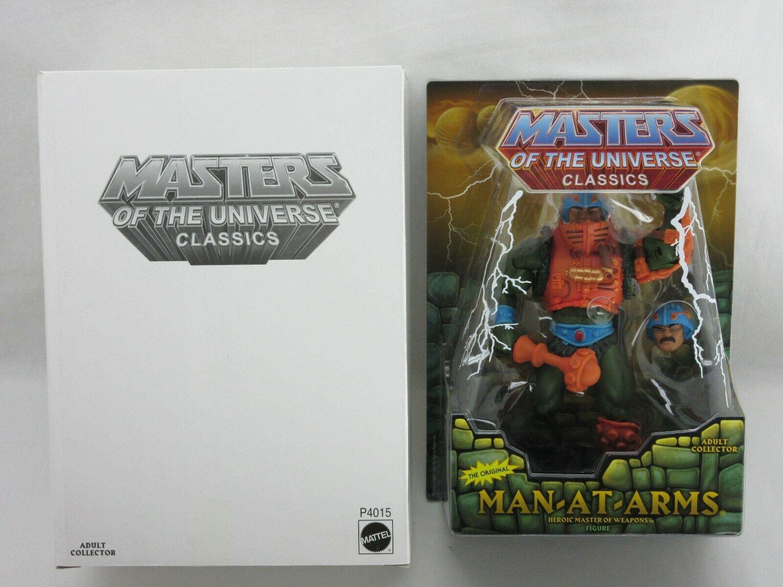 Motuc, Amos del Universo, hombre de armas, Masters Of Universe Classics, Sellado, menta en tarjeta, he-man