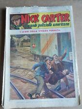 Nick Carter Il Grande poliziotto americano Anni 40 n°53 ed. NERBINI  [G369]