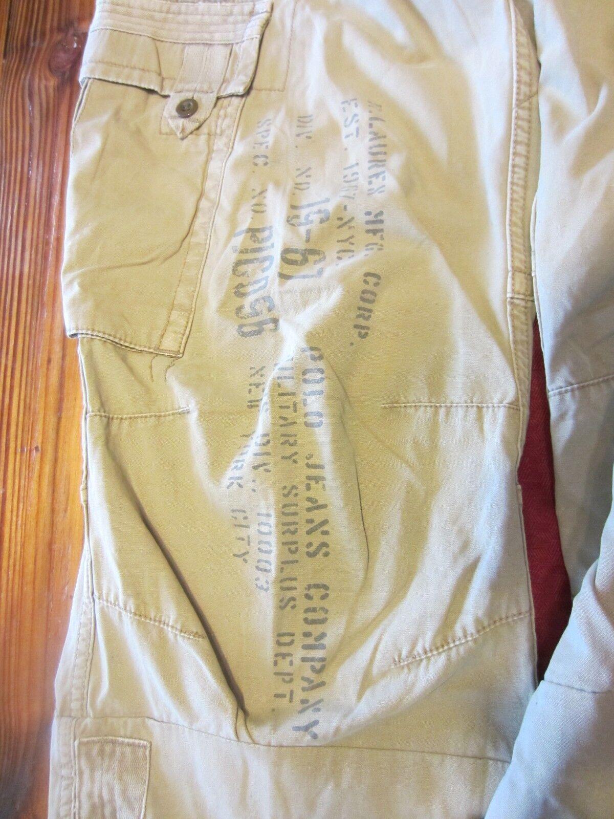 3369cb635 VTG Ralph Lauren Polo Cargo Pants Size 32x30(26) RARE 90s 19-67 ...