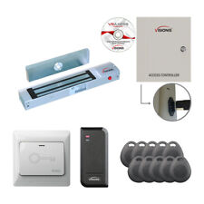 Visionis One Door Access Control With Maglock Card Reader Amp Exit Button