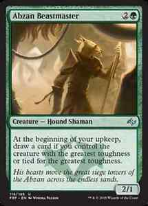 Abzan-Beastmaster-NM-x4-Fate-Reforged-MTG-Magic-Cards-Green-Uncommon