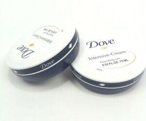 2X Dove Cream, Nourishing Care  Dove Intensive Cream,2.53 FL.OZ each,
