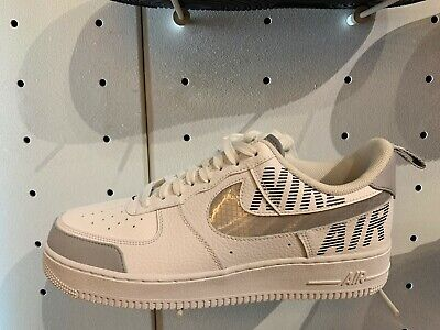 Nike Air Force 1 basse 07 LV8 2 UC WHITE WOLF GREY GS PS TD Uomini 4C 13 BQ4421 100 | eBay