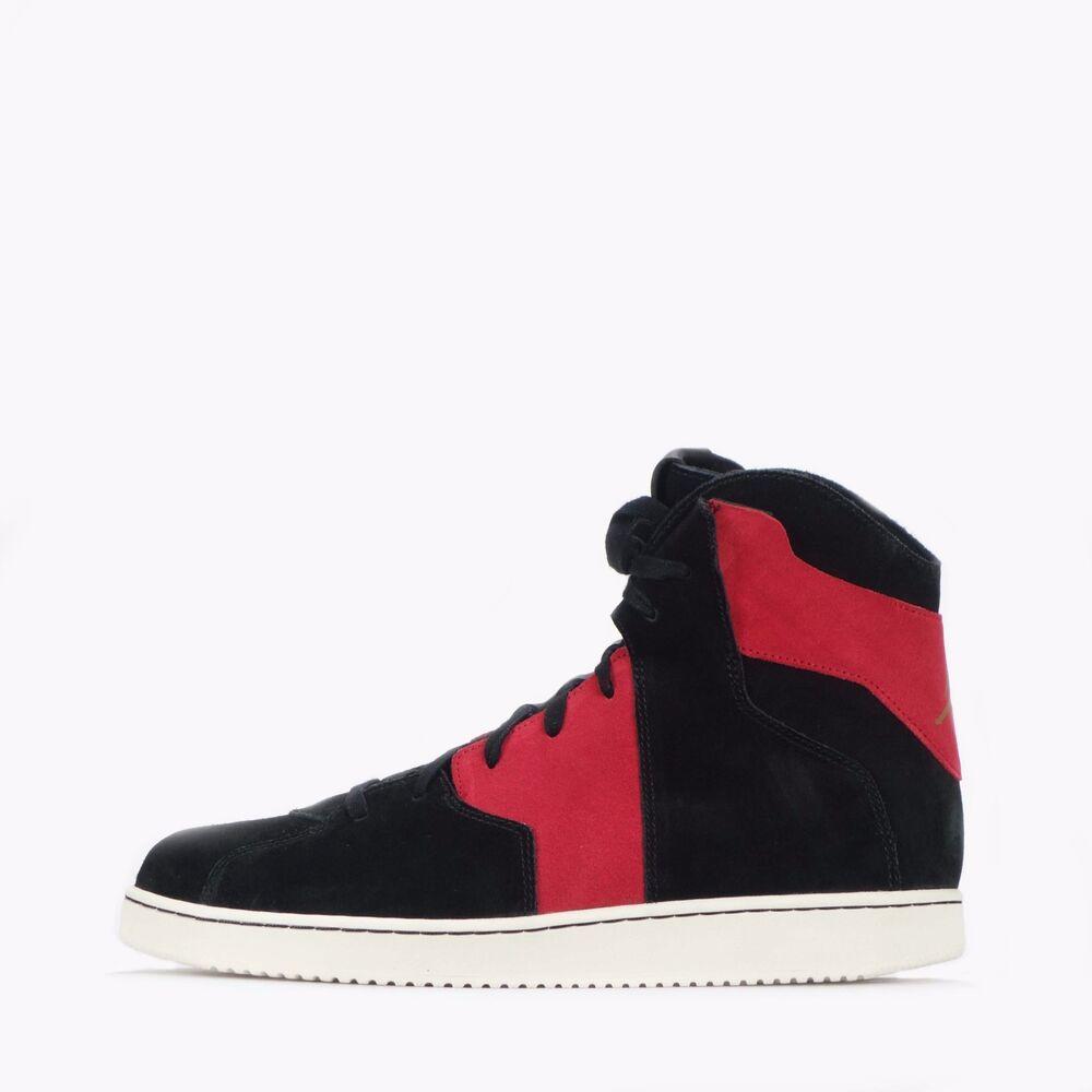 Nike Jordan Westbrook 0.2 Homme Hi Top Chaussures Noir/Rouge- Chaussures de sport pour hommes et femmes
