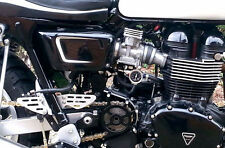 TEC Black Gel Coat Body Panels - Triumph Bonneville SE T100 Thruxton Scrambler