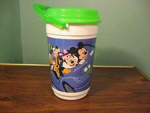 New Walt Disney World Magic Kingdom Popcorn Bucket with Lid 2014 Mint Condition
