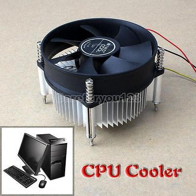 3Pin 12V Intel CPU Cooler Fit For Ultra Quiet 3200 rpm LGA775 90mm Heatsinks Fan