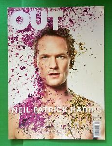 OUT MAGAZINE Neil Patrick Harris on COVER - April 2014 Issue 233 New Condition