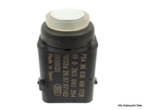 Peugeot 407 SW 2.0 HDi Sensor Parksensor 9663649877 ZR