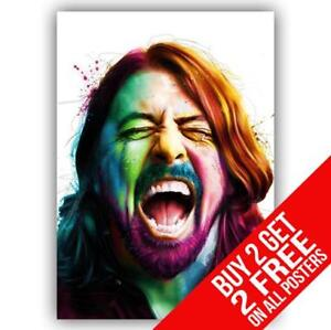 DAVE-GROHL-FOO-FIGHTERS-POSTER-ART-PRINT-A4-A3-SIZE-BUY-2-GET-ANY-2-FREE
