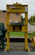 Enerpac 50 Ton Hydraulic H Frame Shop Press Withenerpac 115v Per 153 Hushh Pump