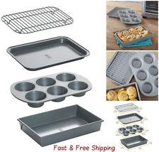 Chicago Metallic Non-Stick 4-Piece Toaster Oven Set