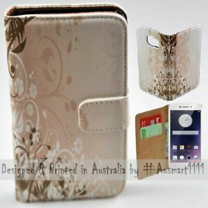 For OPPO Series - Chaotic Floral Theme Print Wallet Mobile Phone Case Cover