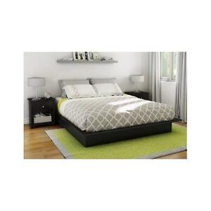 bed platform contemporary modern home furniture dorm mattress bedroom