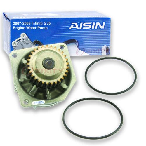 AISIN Water Pump for 2007-2008 Infiniti G35 3.5L V6 Engine Coolant bh
