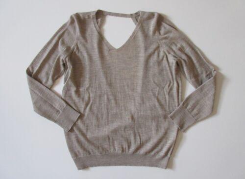 Sweater Royal Fisher hals M Eileen Alpaca I Havre Project V Maple Tilbage Åben Nwt 7Ivq5wI