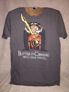 JOE-039-S-CRAB-SHACK-T-SHIRT-034-BUTTER-IS-COMING-034-FUNNY-034-GAME-OF-THRONES-034-THEME-SHIRT
