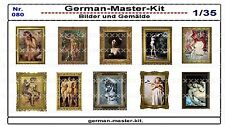 080, Diorama Zubehör Serie Bilder und Gemälde, 1:35, GMKT World of War II