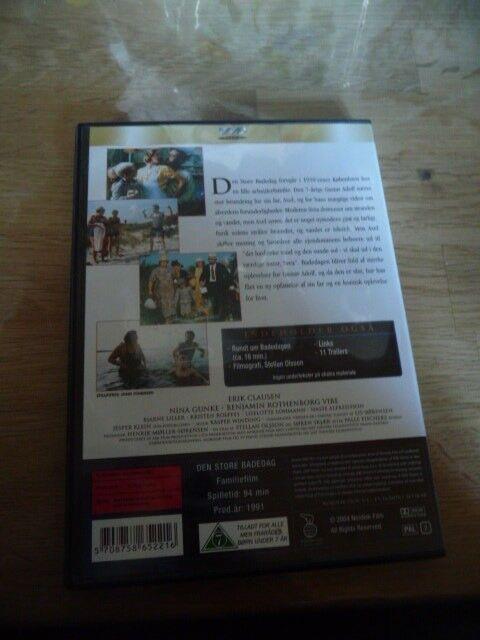 Den store badedag, DVD, familiefilm