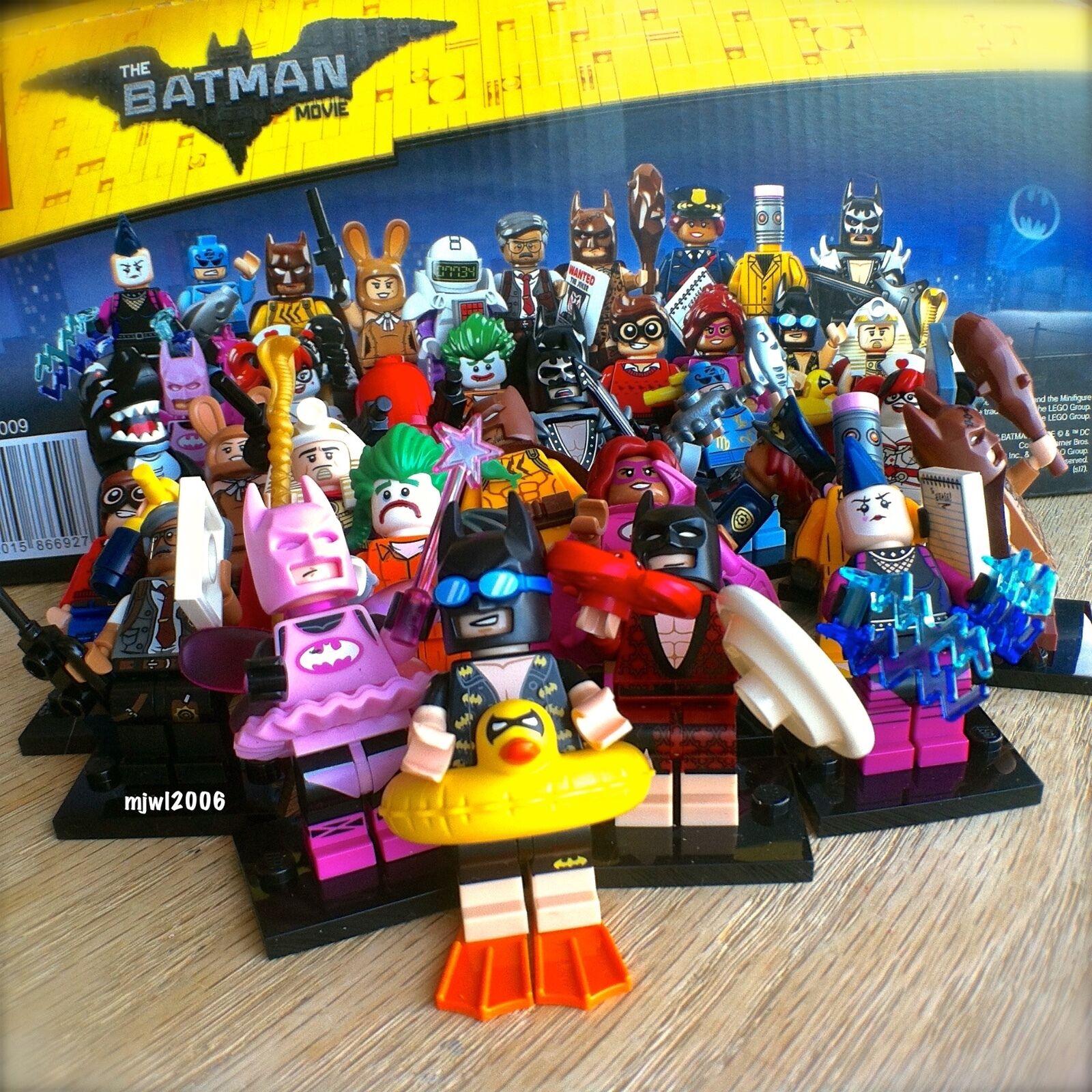 THE LEGO BATMAN MOVIE Minifigures COMPLETE SET of 20 SEALED 71017 Series bundle