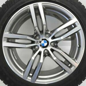 Original-BMW-X6-F16-E71-Winterraeder-M-Doppelspeiche-623-Ferricgrey-RDC-RSC