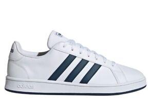Scarpe da uomo Adidas FY8568 sneakers sportive ginnastica tennis pelle bianche