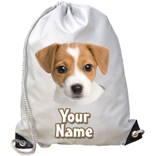 GREAT GIFT SWIMMING DANCE BAG JACK RUSSELL DOG PUPPY PERSONALISED GYM